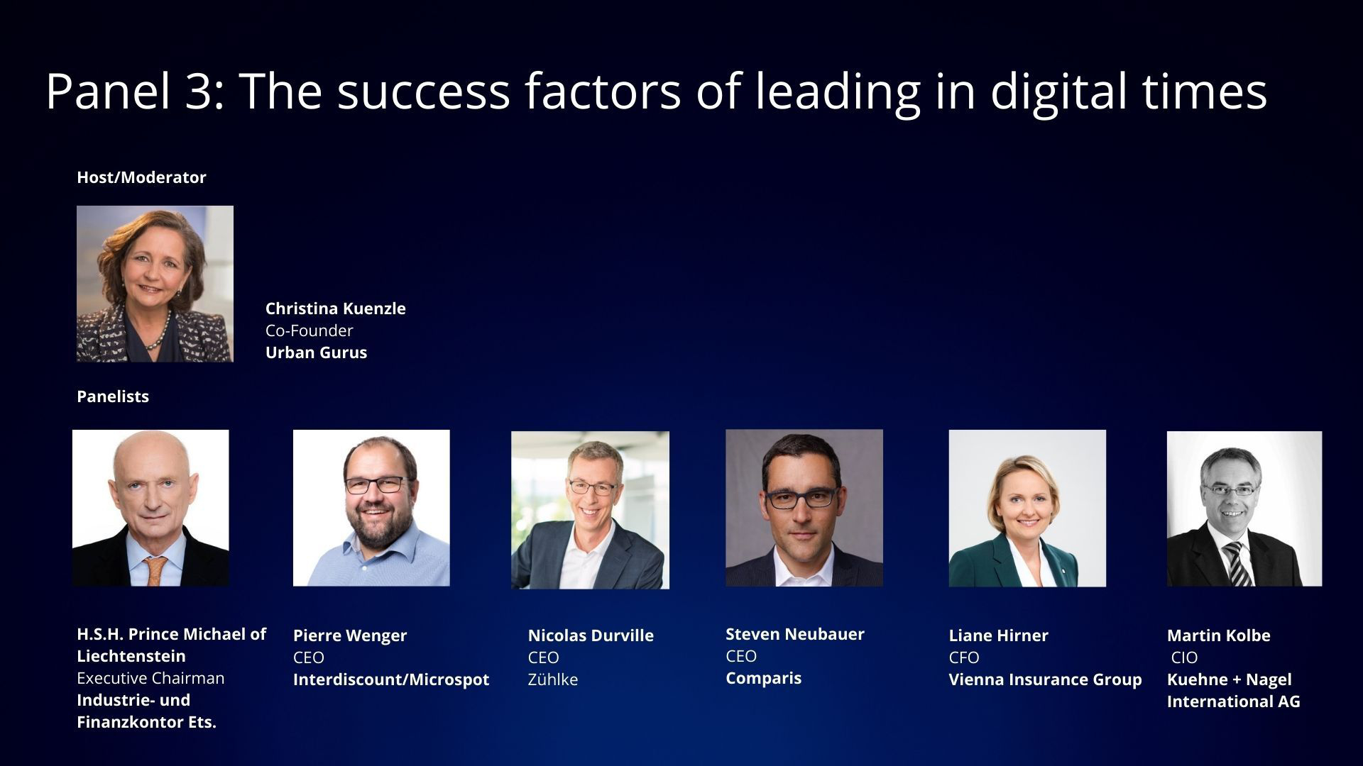 The success factors of leading in digital times